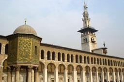 Большая мечеть Омейядов в Дамаске (Сирия)