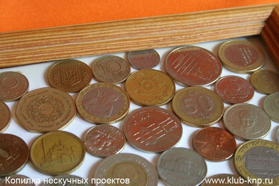 Поделки из монет вмдео