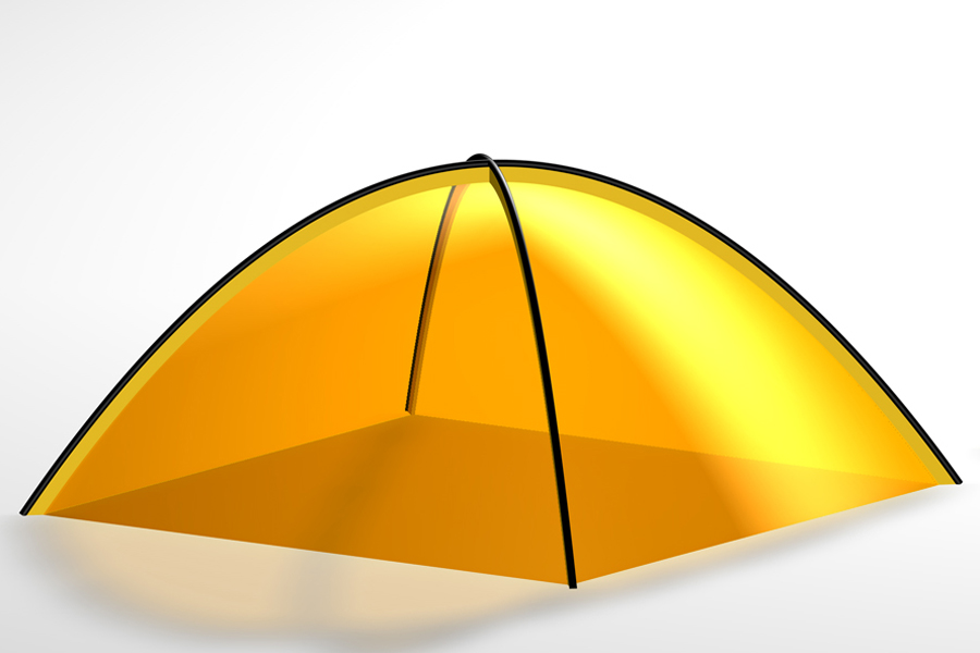 Формы палаток – полусфера