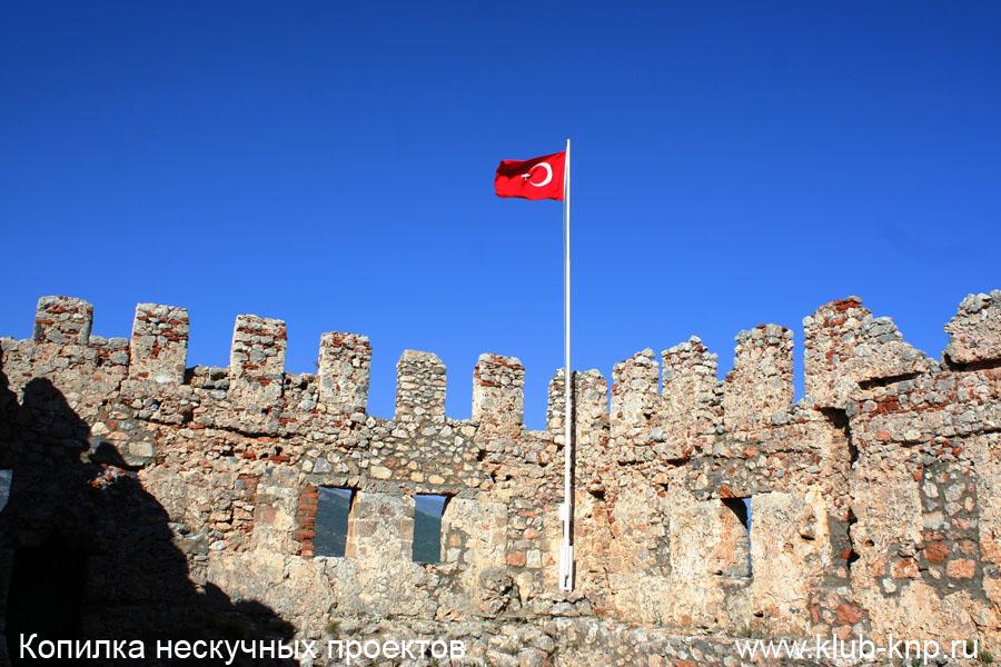Крепость Эхмедек в Алании