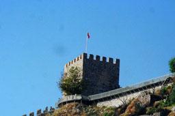 Крепость в Алании (Турция)