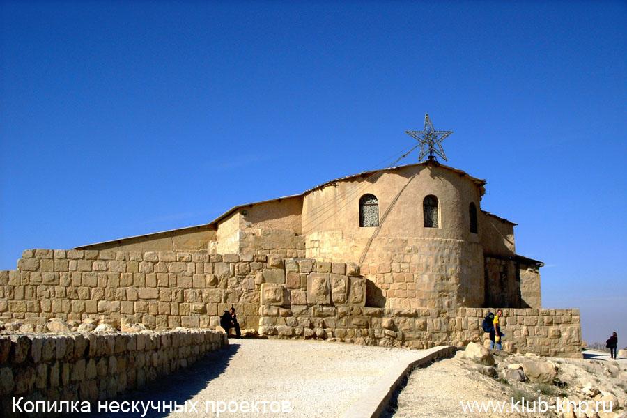 Мемориал Моисея в Иордании (Гора Небо)