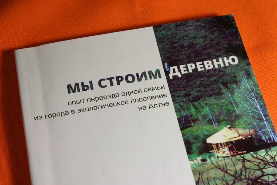 """""""Мы строим деревню"""" книга Александра Иванова"""