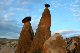 Где находятся самые знаменитые скалы Каппадокии
