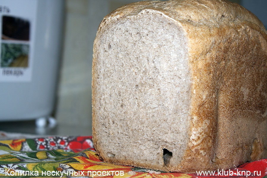 того, рецепт хлеба для хлебопечки на закваске ВЫБОРУ ТЕРМОБЕЛЬЯ