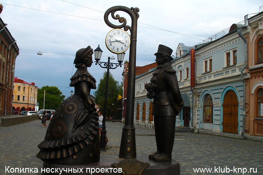 Киров Достопримечательности фото с описанием город на карте что посмотреть туристу