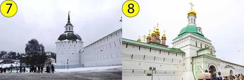 Пятницкая башня - она первая встречает нас, когда мы идем от проспекта Красной Армии, и Красная башня - через её ворота мы входим в Лавру.