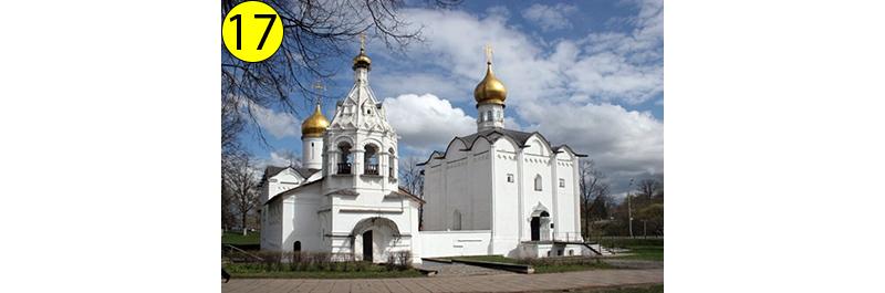 Пятницкая и Введенская церкви.