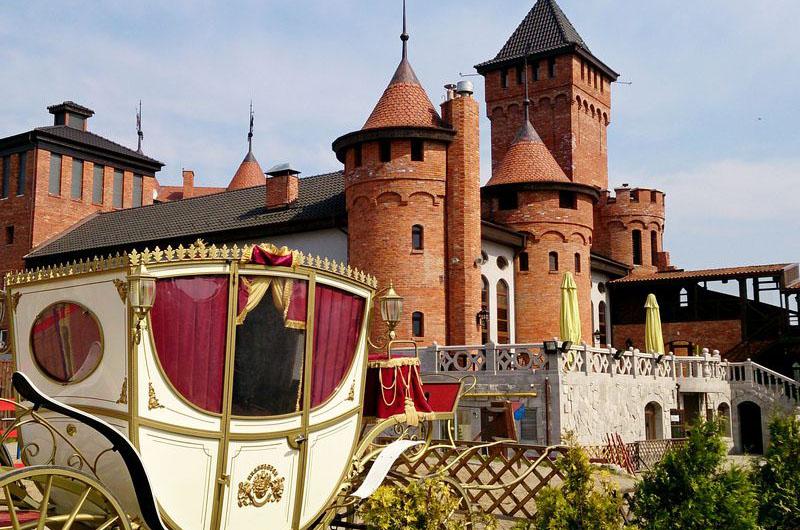 Стилизованный замок Нессельбек.
