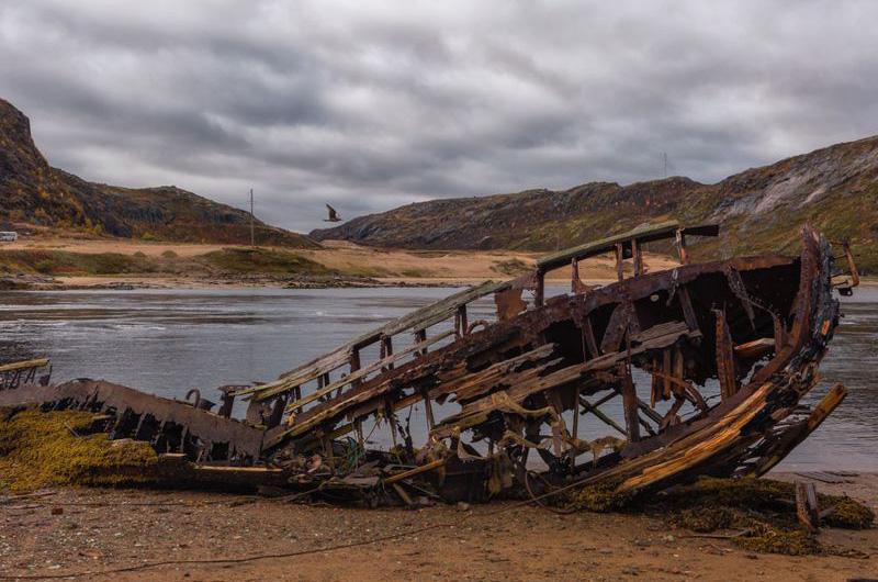 Териберка – кладбище кораблей.